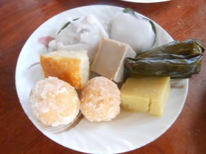 Cambodian pastries