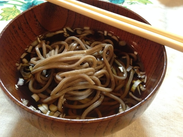 Toshi-koshi Soba in Japan
