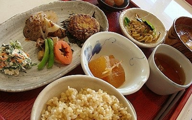 Autumn macrobiotic menu