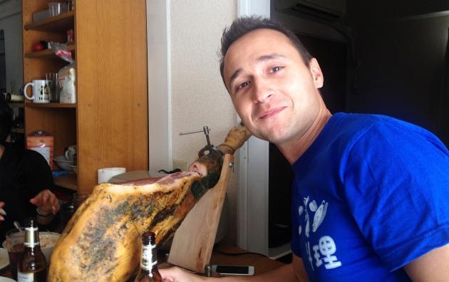 Fernando loves ham!
