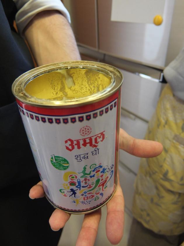インドのバター「ギー」